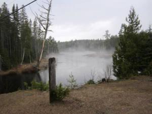 Misty Algonquin Lake