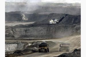 Oil Sands mining at Ft. McMurray, Alberta (Associated Press)