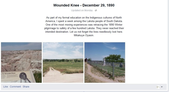 Remembering Wounded Knee